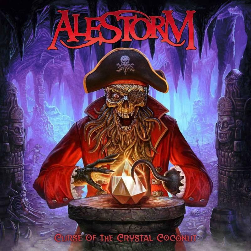 chronique Alestorm - Curse of the Crystal Coconut