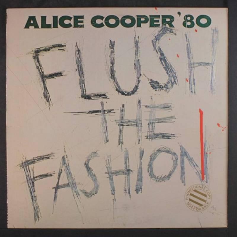 chronique Alice Cooper - Flush The Fashion