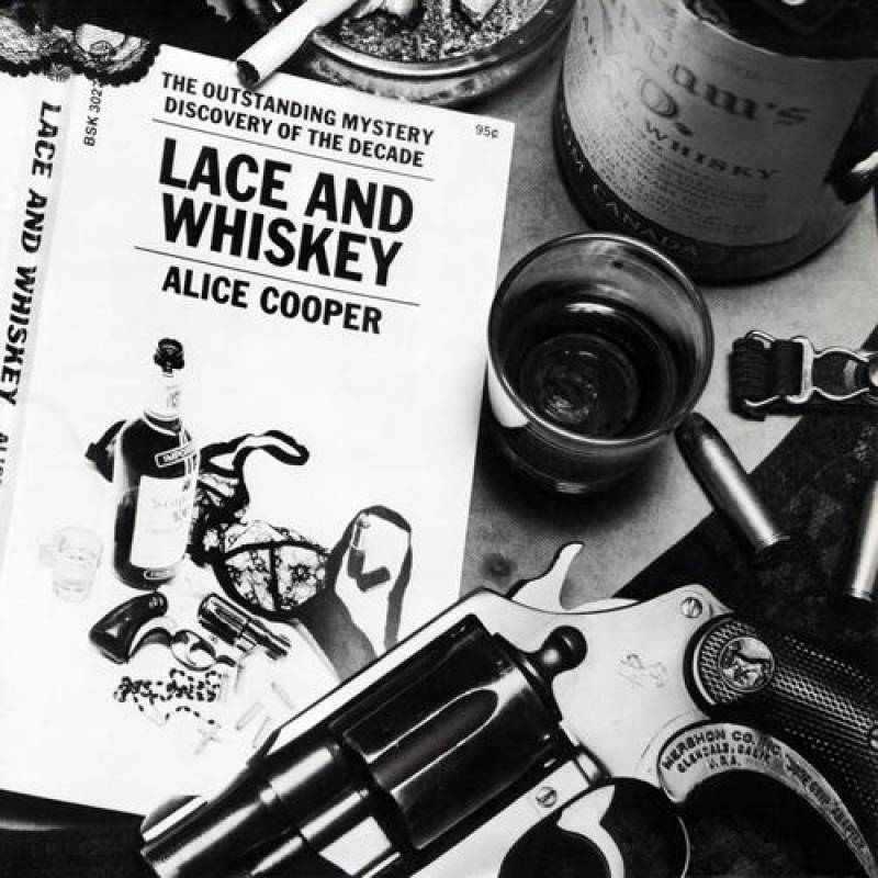 chronique Alice Cooper - Lace And Whiskey