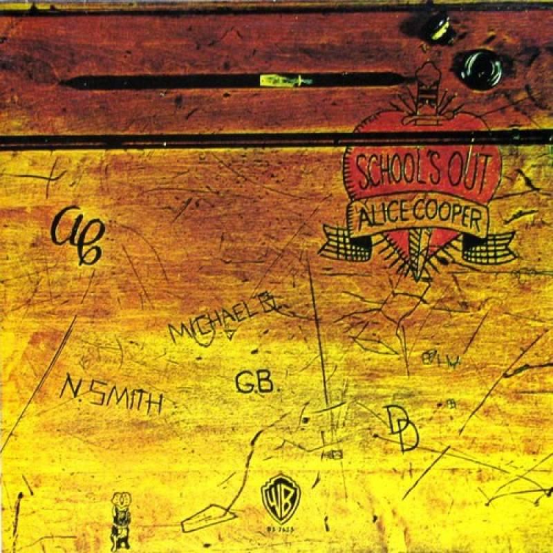chronique Alice Cooper - School's Out