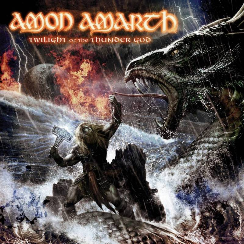 chronique Amon Amarth - Twilight of the Thunder God