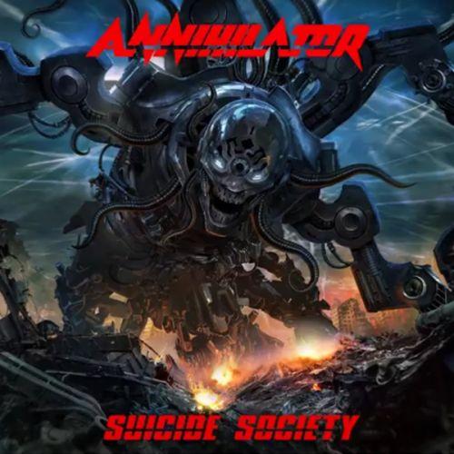 chronique Annihilator - Suicide Society