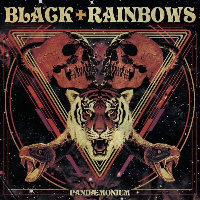 chronique Black Rainbows - Pandaemonium