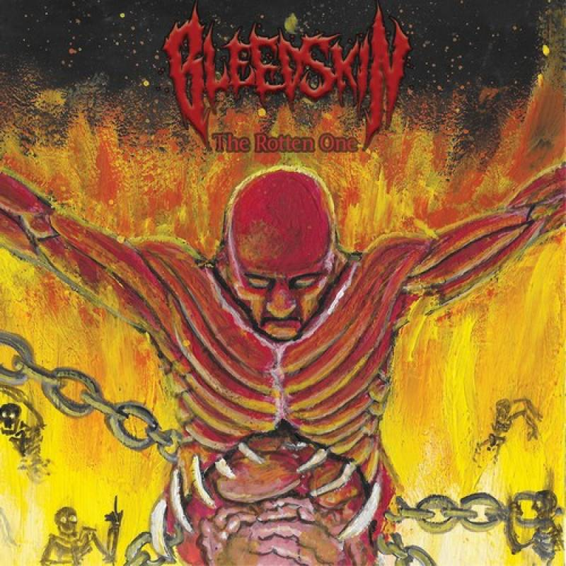 chronique Bleedskin - The Rotten One