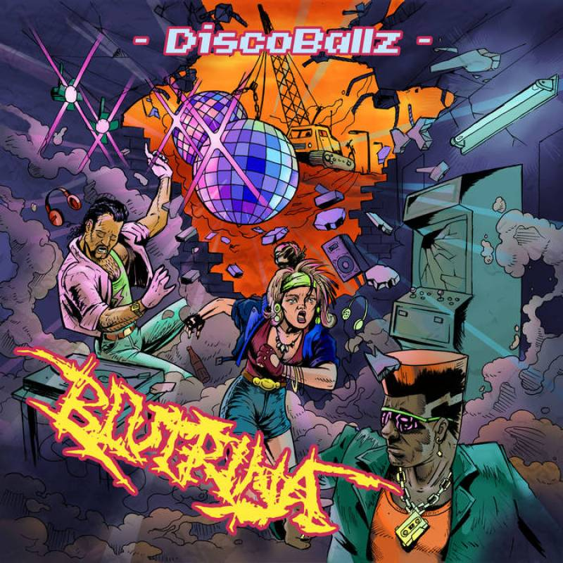 chronique Blutrină - DiscoBallz