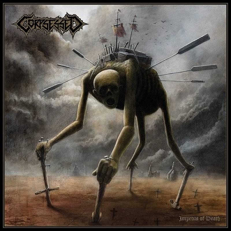 chronique Corpsessed - Impetus of death