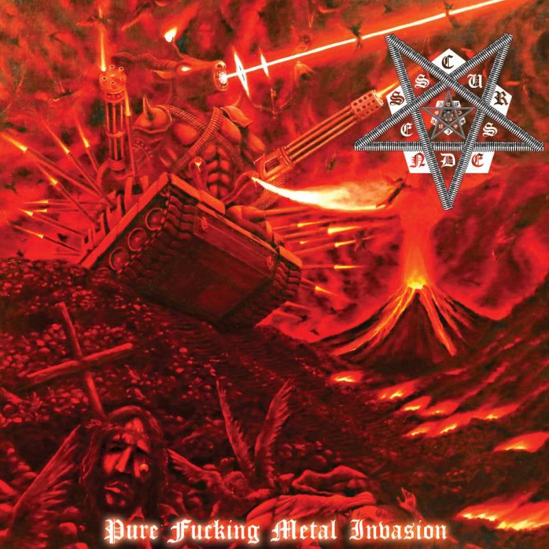 chronique Cursedness - Pure Fucking Metal Invasion