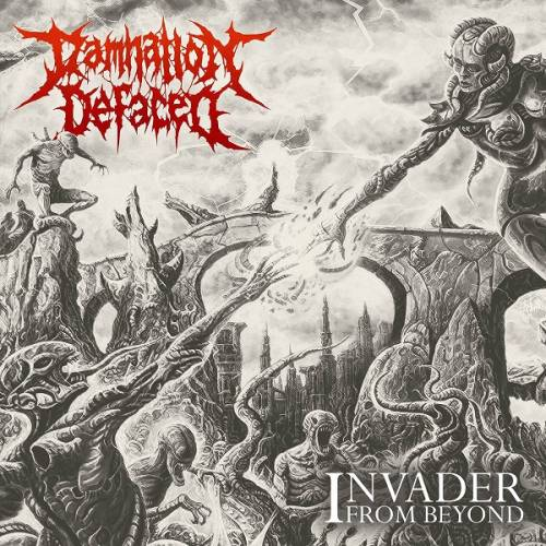 chronique Damnation Defaced - Invader from Beyond