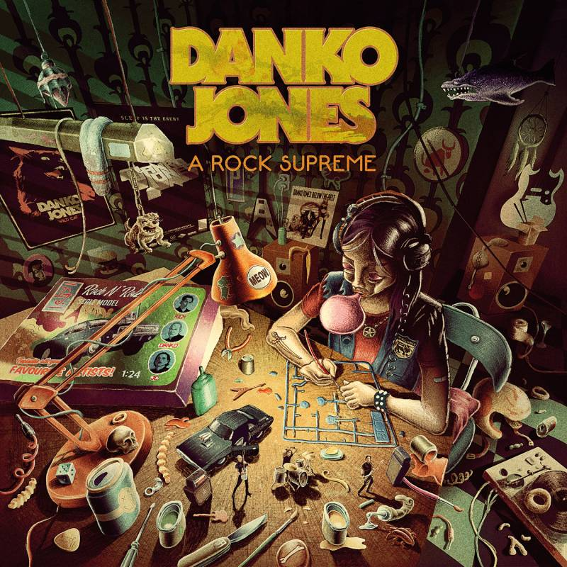 chronique Danko Jones - A Rock Supreme