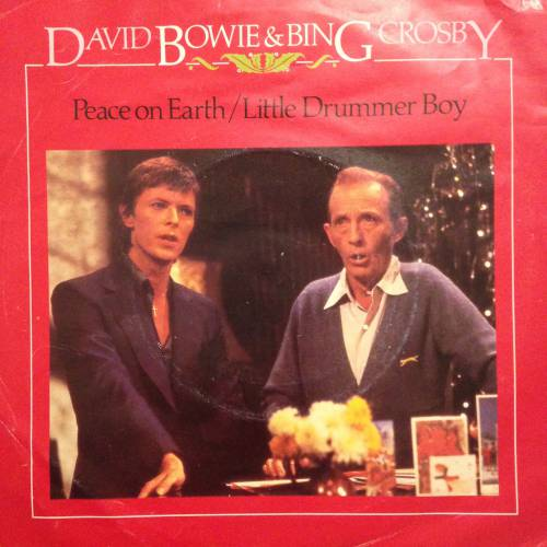chronique David Bowie + Bing Crosby - Peace on Earth/Little Drummer Boy