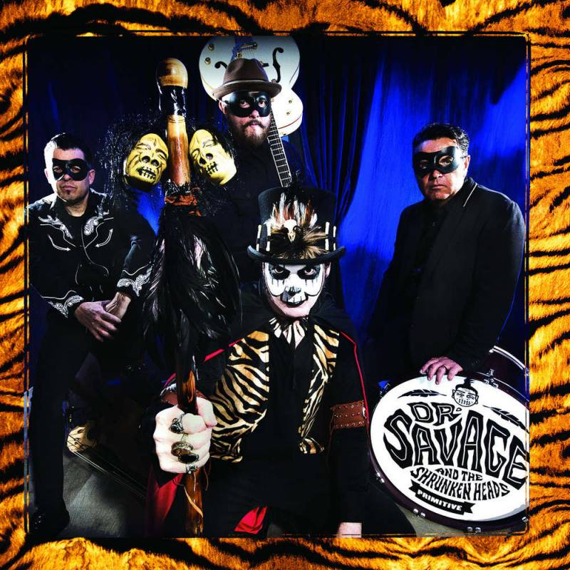 chronique Dr Savage And The Shrunken Heads - Primitive