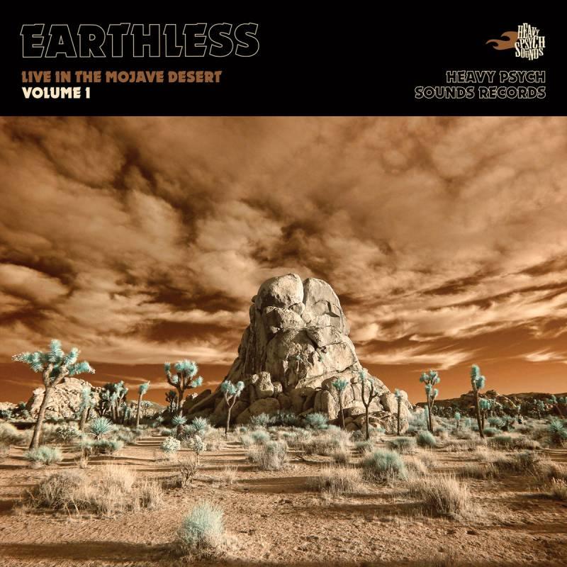 chronique Earthless - Live in the Mojave Desert - Volume 1