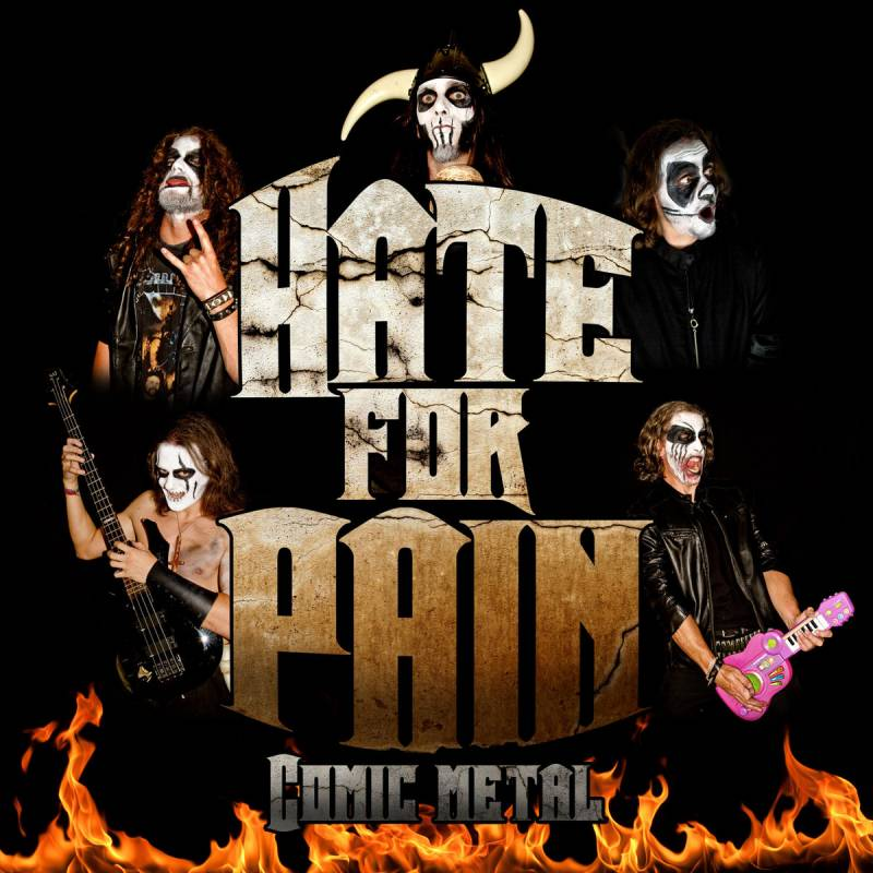 chronique Hate For Pain - Comic Metal