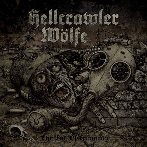 chronique Hellcrawler + Wölfe - The End Of Humanity
