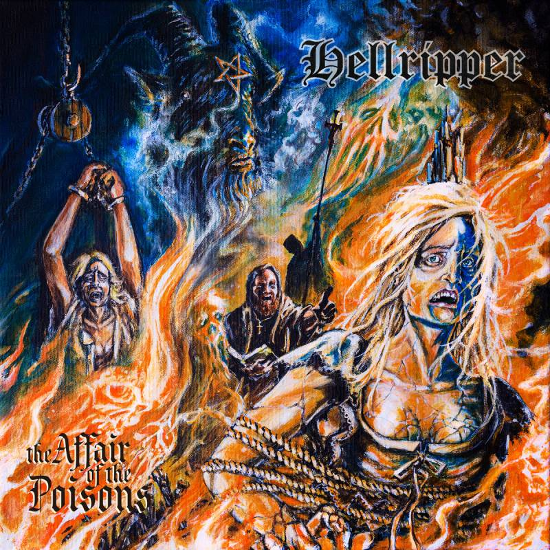 chronique Hellripper - The Affair of the Poisons