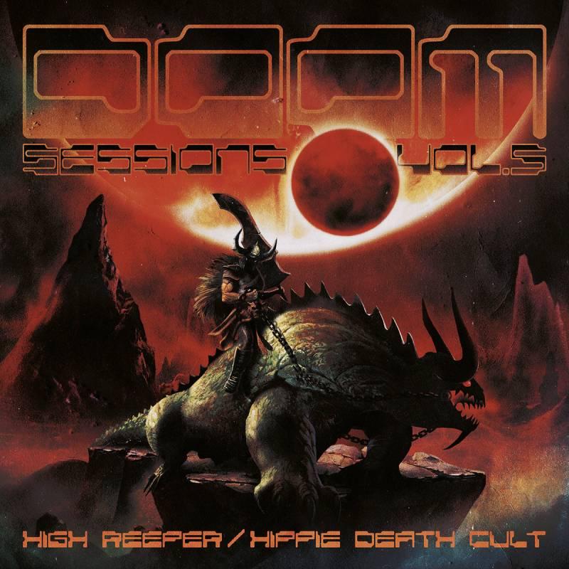 chronique High Reeper + Hippie Death Cult - Doom Sessions Volume 5