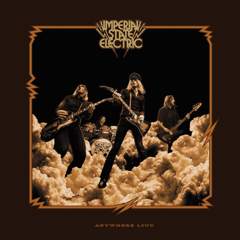 chronique Imperial State Electric - Anywhere Loud