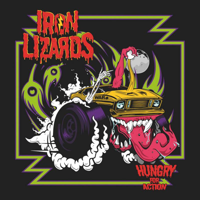 chronique Iron Lizards - Hungry For Action