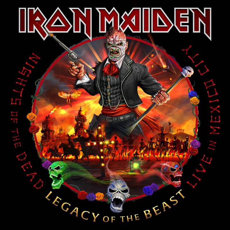 chronique Iron Maiden - Nights Of The Dead, Legacy Of The Beast: Live in Mexico City