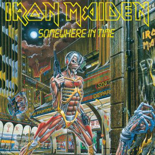 chronique Iron Maiden - Somewhere in Time