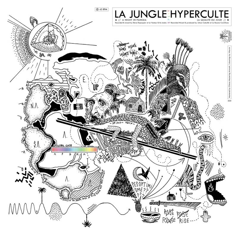 chronique La Jungle + Hyperculte - s/t
