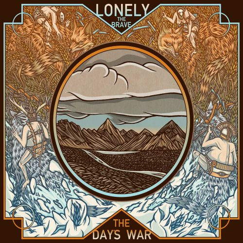 chronique Lonely The Brave - The day's war