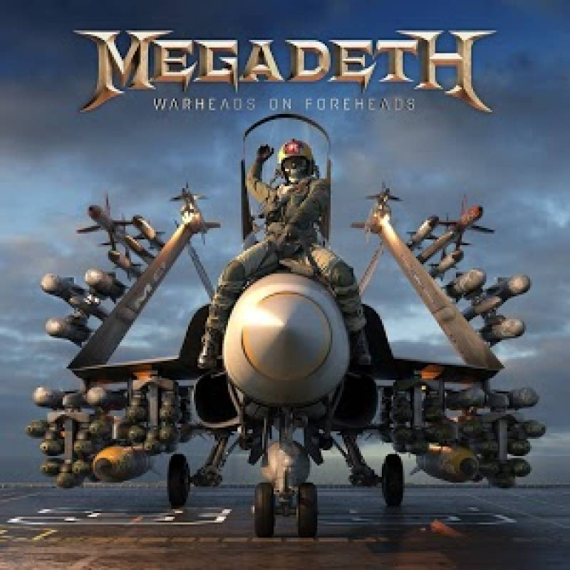 chronique Megadeth - Warheads on Foreheads