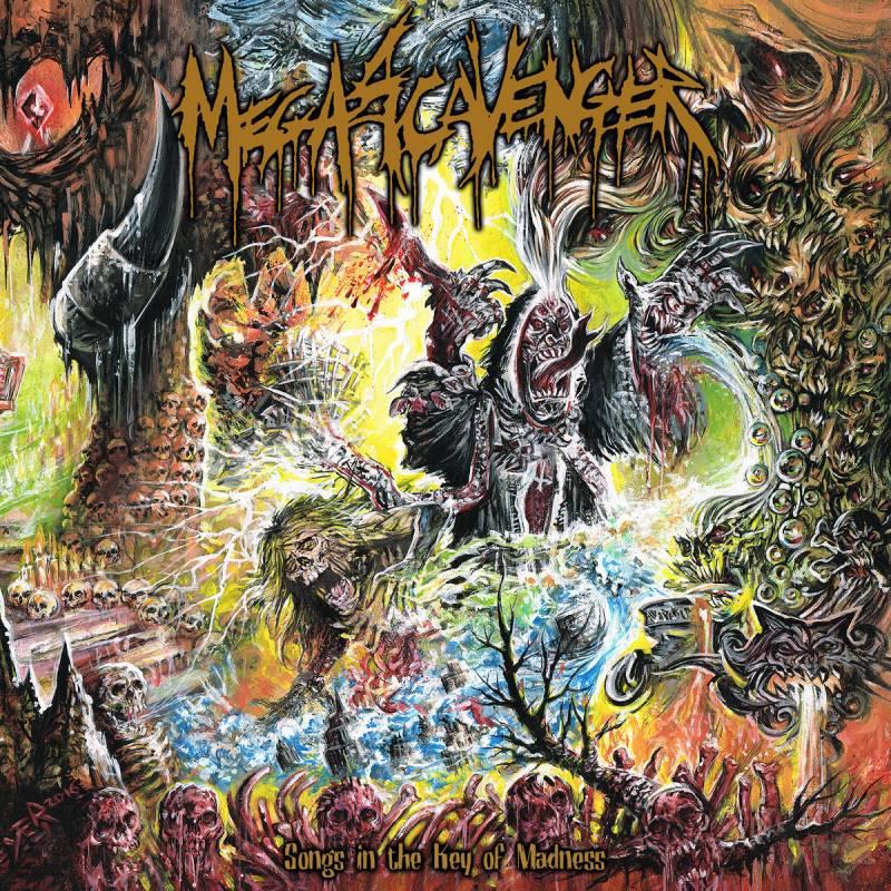 chronique Megascavenger - Songs in the Key of Madness