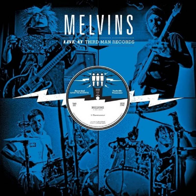 chronique Melvins - Live At Third Man Records