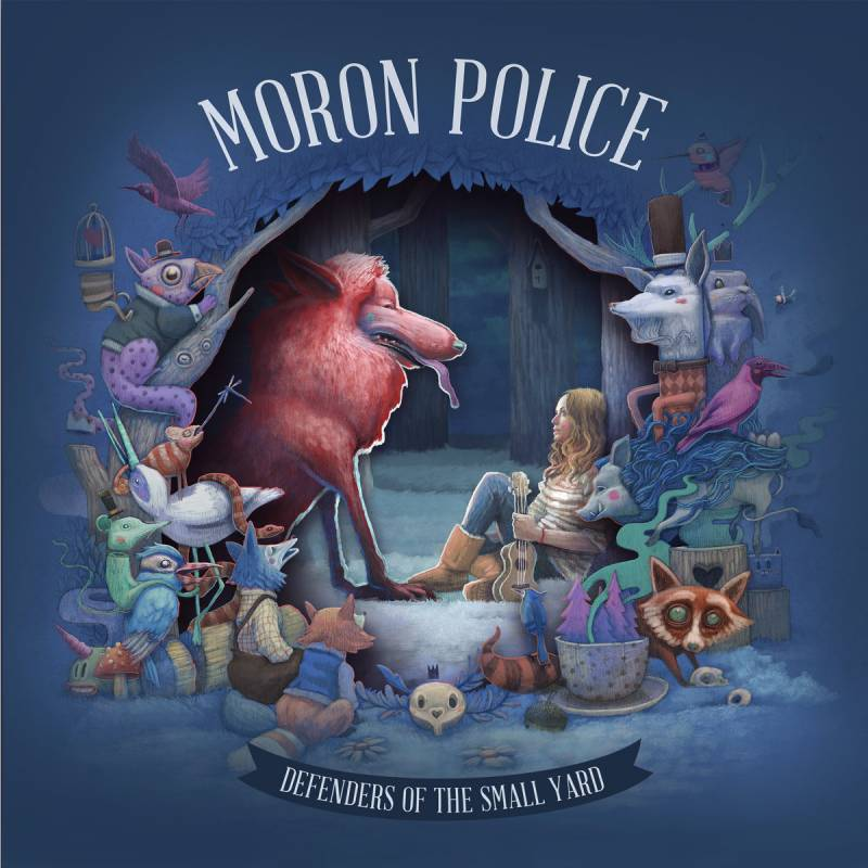 chronique Moron Police - Defenders of the Small Yard