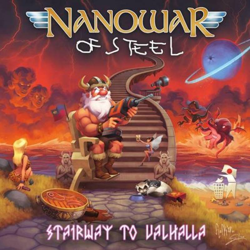 chronique Nanowar Of Steel - Stairway to Valhalla