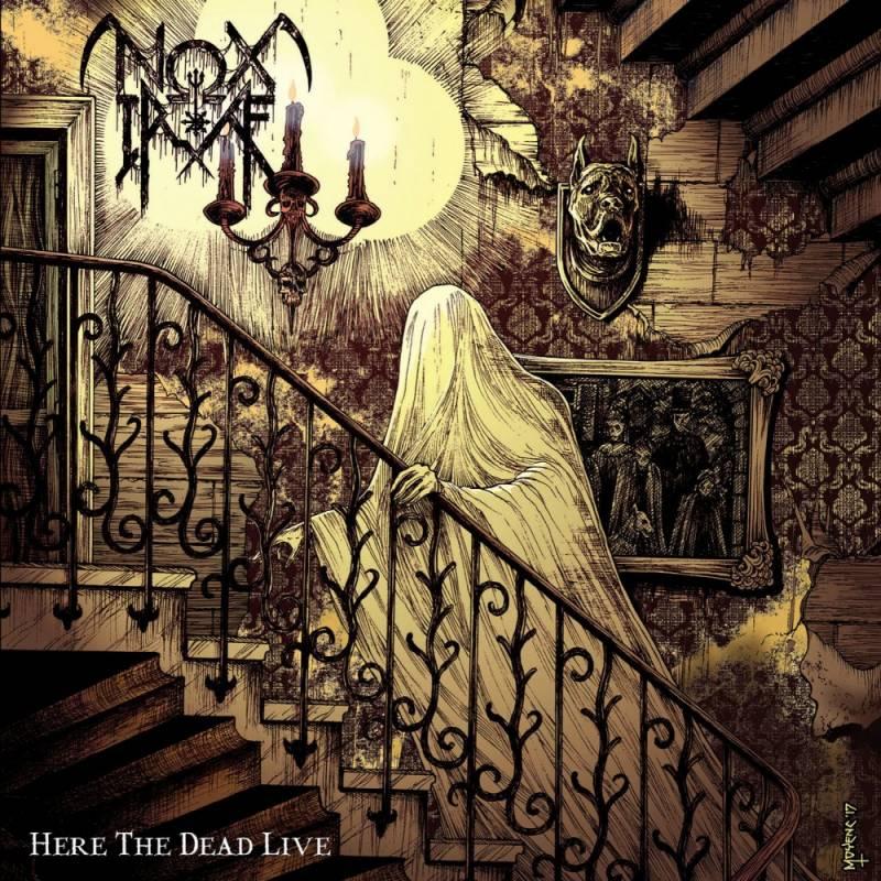 chronique Nox Irae - Here The Dead Live