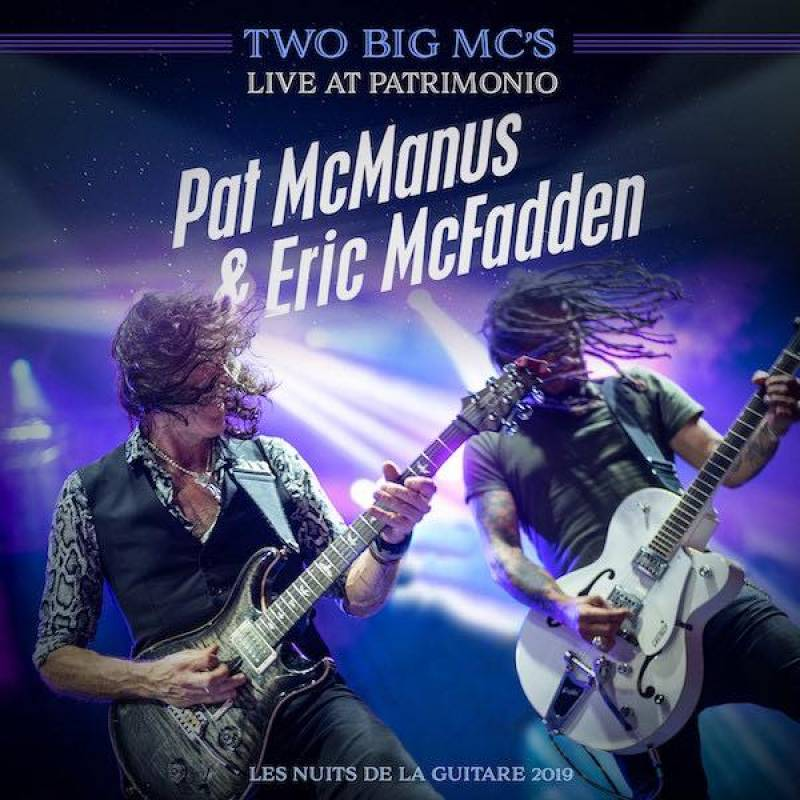 chronique Pat Mcmanus + Eric Mcfadden - 2 Big Mc's - Live at Patrimonio