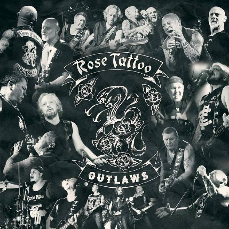 chronique Rose Tattoo - Outlaws