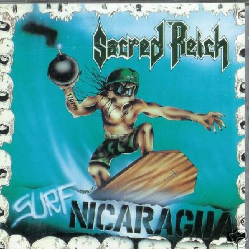 chronique Sacred Reich - Surf Nicaragua