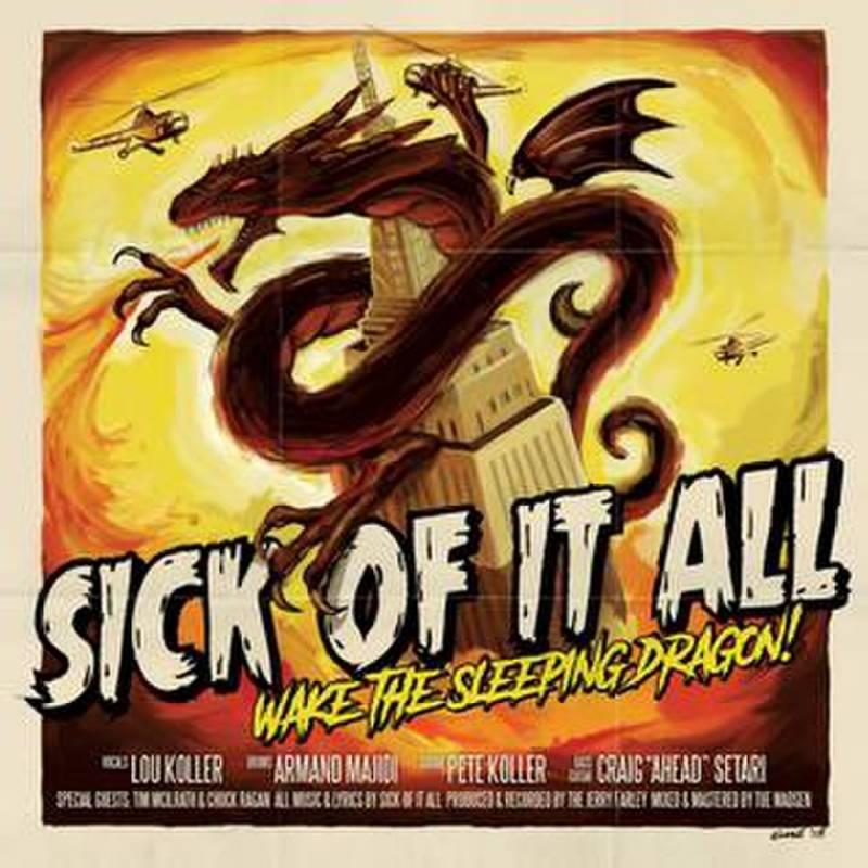 chronique Sick Of It All - Wake The Sleeping Dragon !