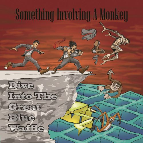 chronique Something Involving A Monkey - Dive Into the Great Blue Waffle