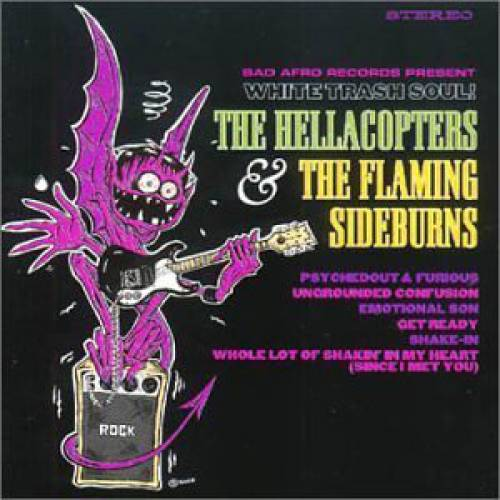 chronique The Hellacopters + The Flaming Sideburns - White Trash Soul !