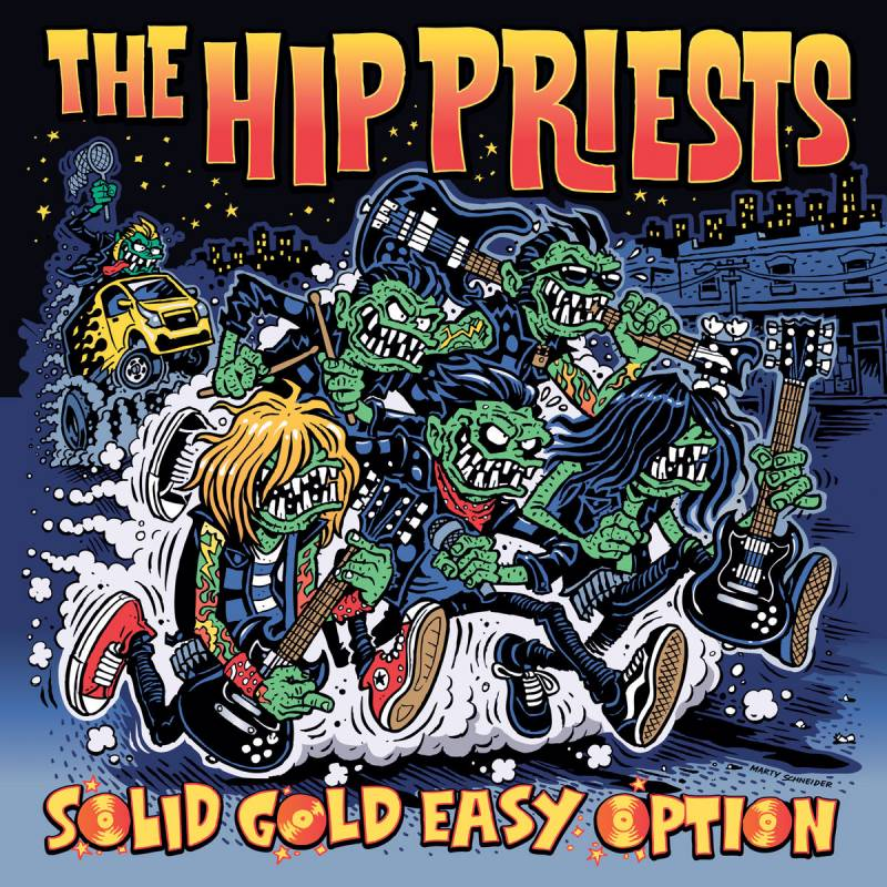 chronique The Hip Priests - Solid Gold Easy Option (Singles 'n' Shit 2017-19)