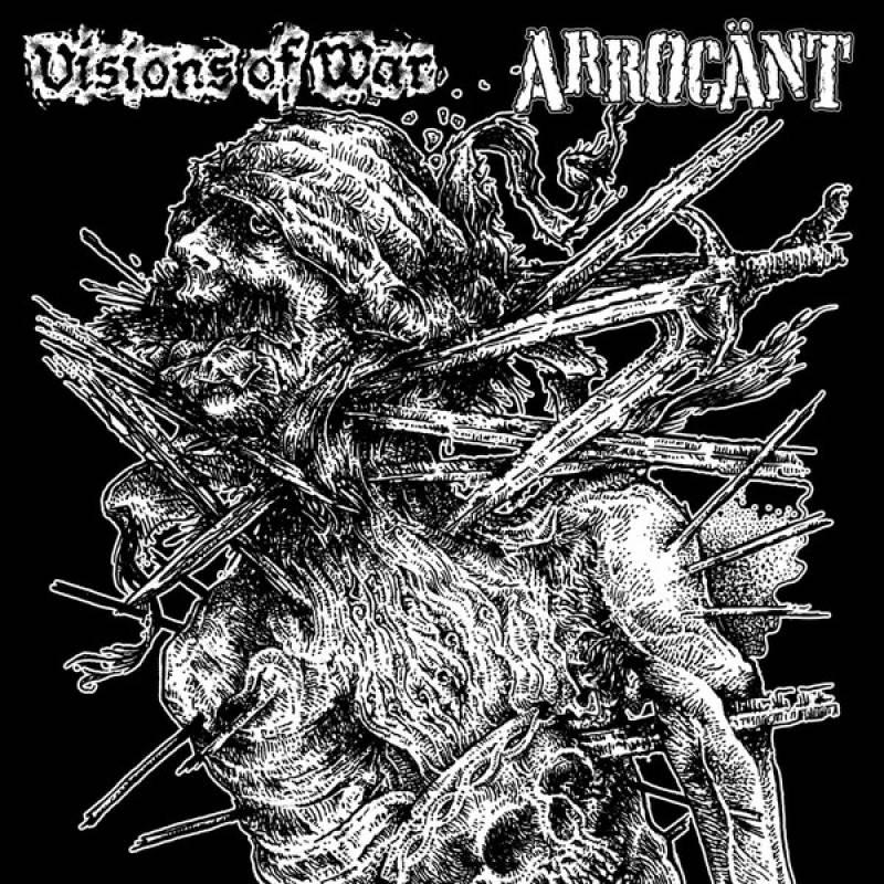 chronique Arrögant + Visions Of War - Split
