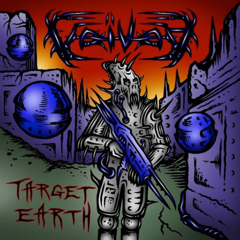 chronique Voivod - Target Earth