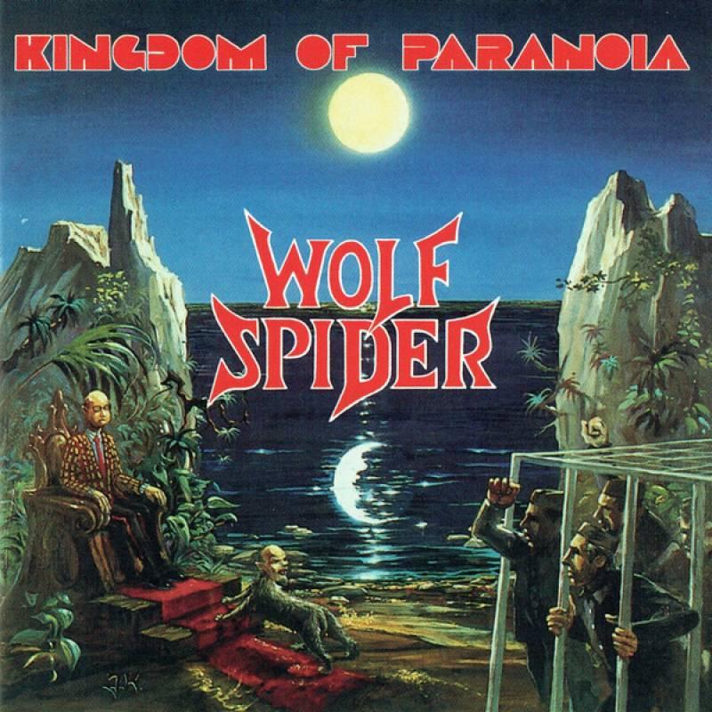 chronique Wolf Spider - Kingdom of Paranoia