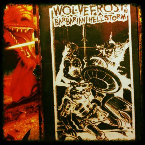 chronique Wölvefröst - Barbarian Hellstorm