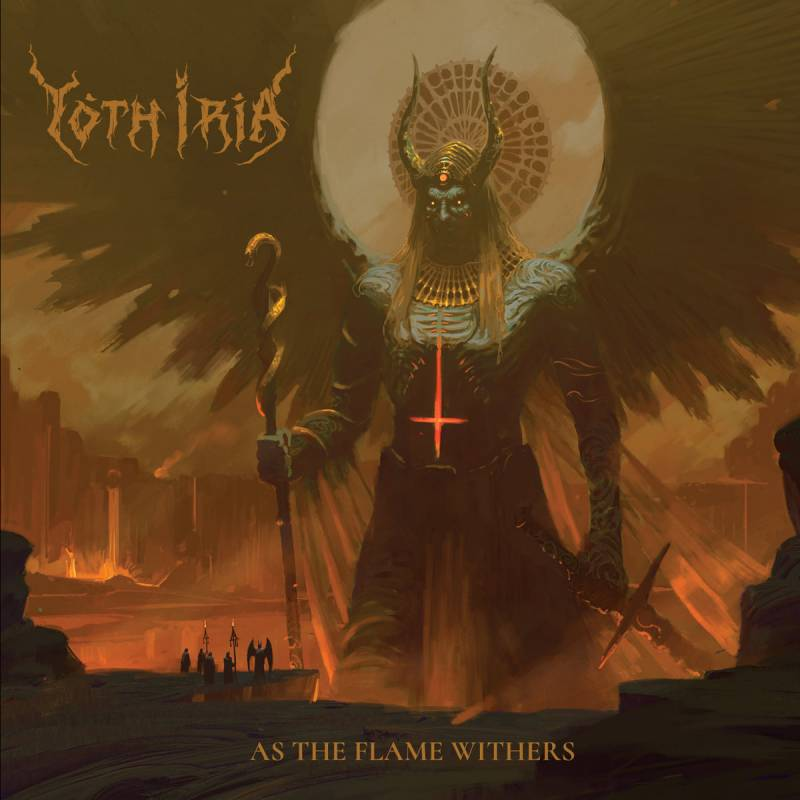 chronique Yoth Iria - As The Flame Withers