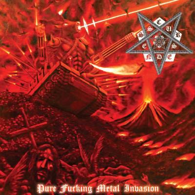 Cursedness - Pure Fucking Metal Invasion