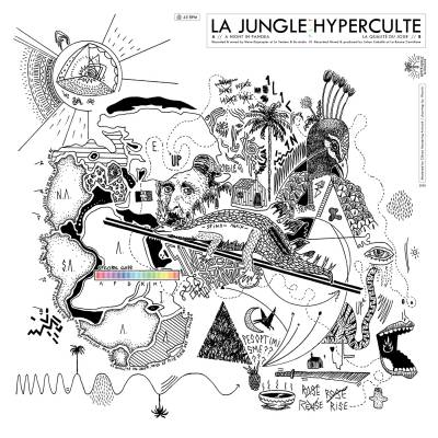 La Jungle + Hyperculte - s/t (chronique)