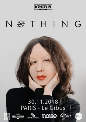 NOTHING au Gibus à Paris le 30 novembre 2018