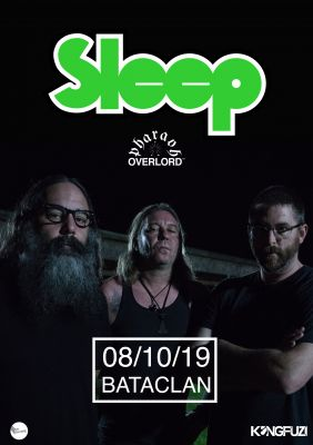 Sleep au Bataclan à Paris le 8 octobre 2019