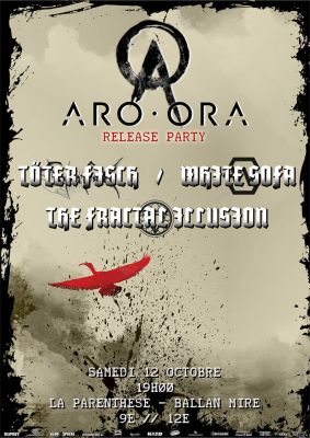 ARO ORA release party à La Parenthèse à Ballan Miré (37) le 12 octobre 2019