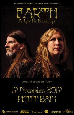 EARTH au Petit Bain à Paris le 19 novembre 2019